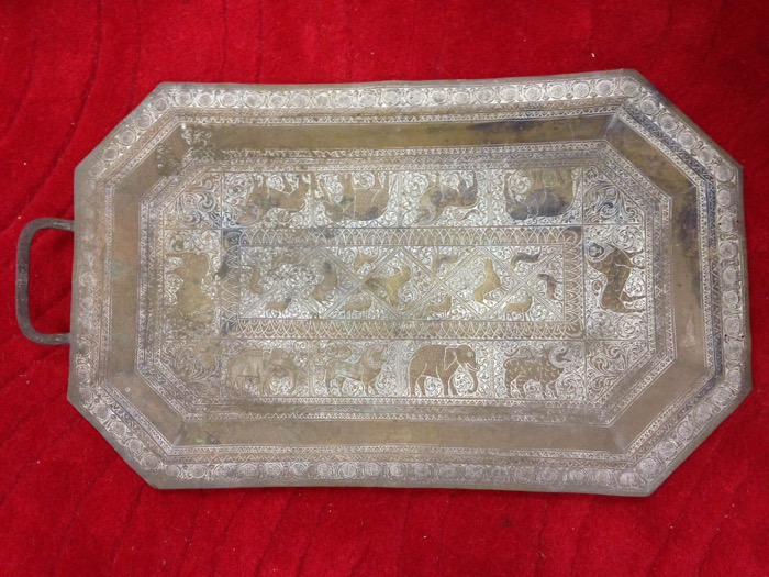Engraved Tray - Prop For Hire