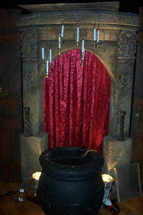 Candle Entrance - Prop For Hire
