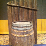 Fence With Barrel - Prop For Hire