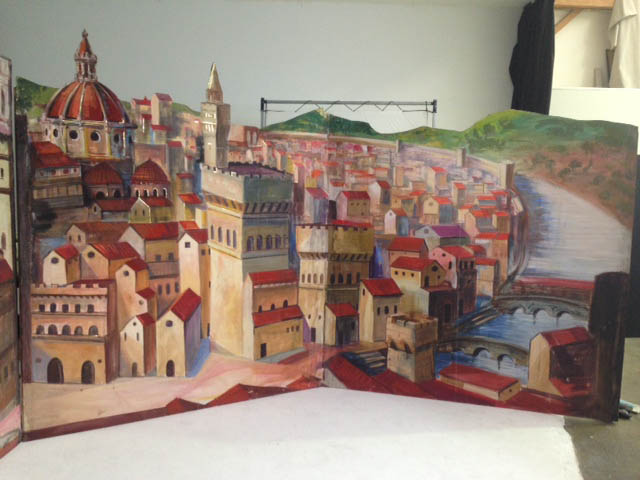 Florence Backdrop 2 - Prop For Hire