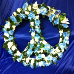 Flower Peace Sign - Prop For Hire