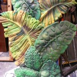 Fluoro Leaves - Prop For Hire
