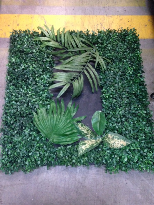 Foliage Wall Section Small - Prop For Hire