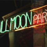 Full Moon Party Sign - Prop For Hire