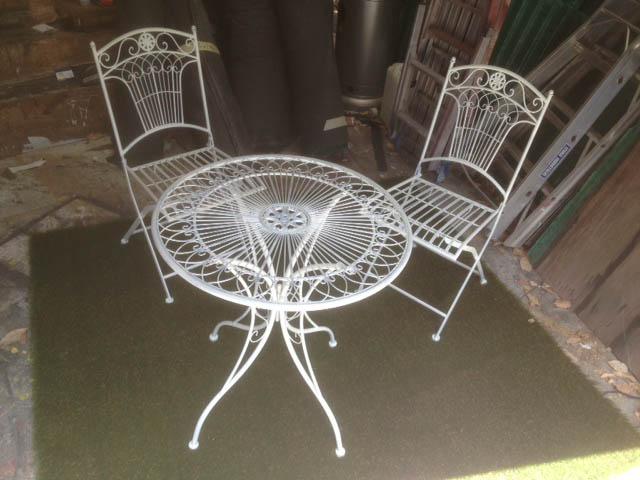 Garden Furniture - Prop For Hire