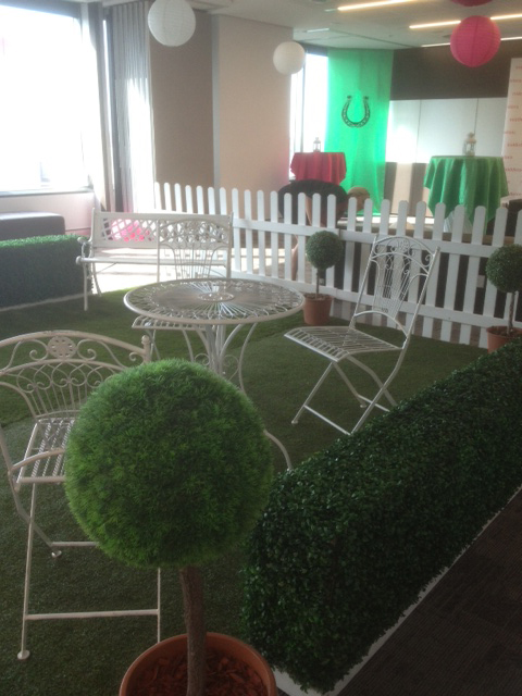 Garden Furniture Clusters - Prop For Hire