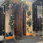 Garden Gate Backdrop - Prop For Hire