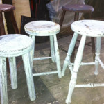 Garden Stools - Prop For Hire