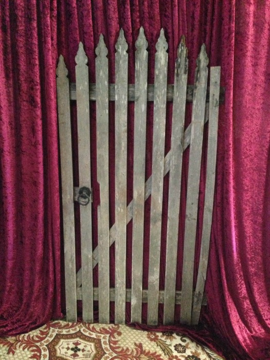 Garden Timber Gate - Prop For Hire