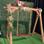 Garden Wall Photo Backdrop - Prop For Hire