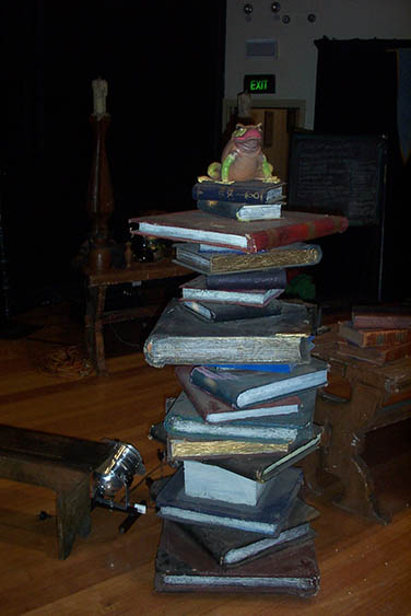 Giant Bookstack 1 - Prop For Hire