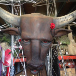 Giant Bulls Head - Prop For Hire