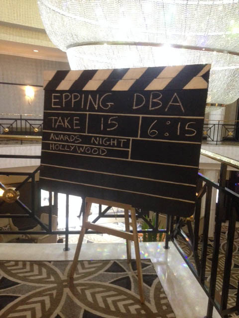 Giant Clapper Board - Prop For Hire