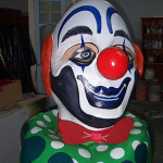 Giant Clown Head 1 - Prop For Hire