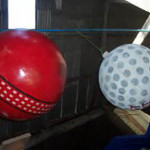 Giant Cricket Golf Ball - Prop For Hire