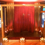 Gold Frame Stage - Prop For Hire