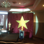 Giant Gold Stars - Prop For Hire