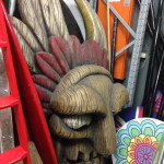 Giant Indian Totem Head - Prop For Hire