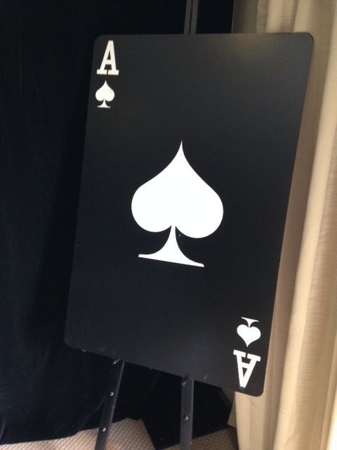 Giant Playing Cards - Prop For Hire