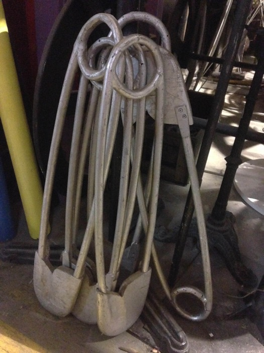 Giant Safety Pins - Prop For Hire