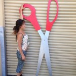 Giant Scissors - Prop For Hire