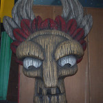 Giant Tiki Mask - Prop For Hire