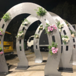 Glamorous Arches - Prop For Hire