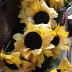 Glitter Sunflowers - Prop For Hire