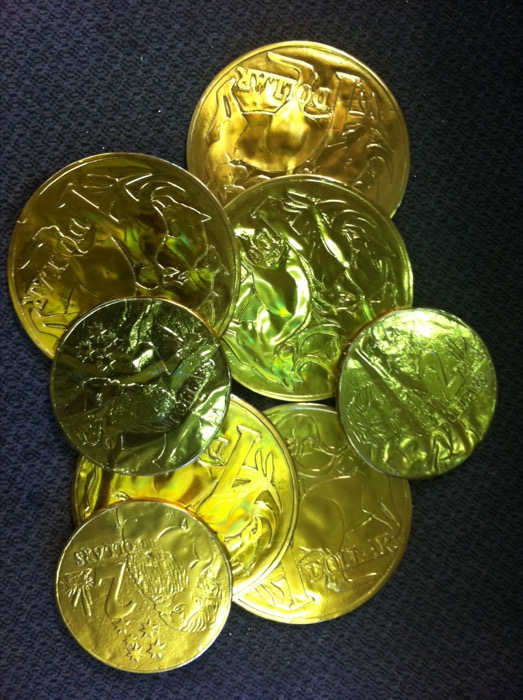 Gold Coins - Prop For Hire