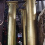 Gold Columns - Prop For Hire