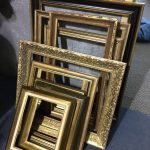 Gold Frame Props - Prop For Hire