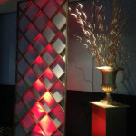 Gold Lattice Screens - Prop For Hire