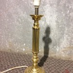 Small Gold Desklamp - Prop For Hire