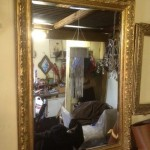 Gold Ornate Mirror - Prop For Hire