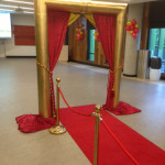 Golden Arch Entrance - Prop For Hire