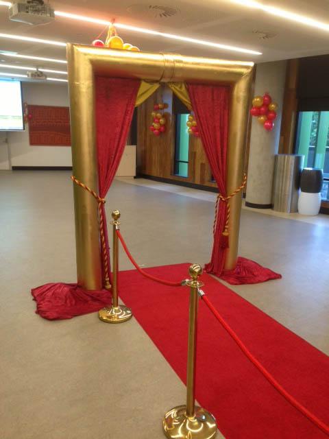 Golden Arch Entrance - Prop For Hire