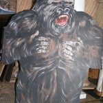 Gorilla Cutout - Prop For Hire