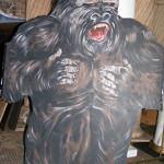 Gorilla Cutout - Prop For Hire