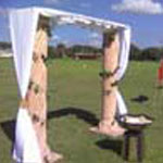 Greek Arch Entrance - Prop For Hire