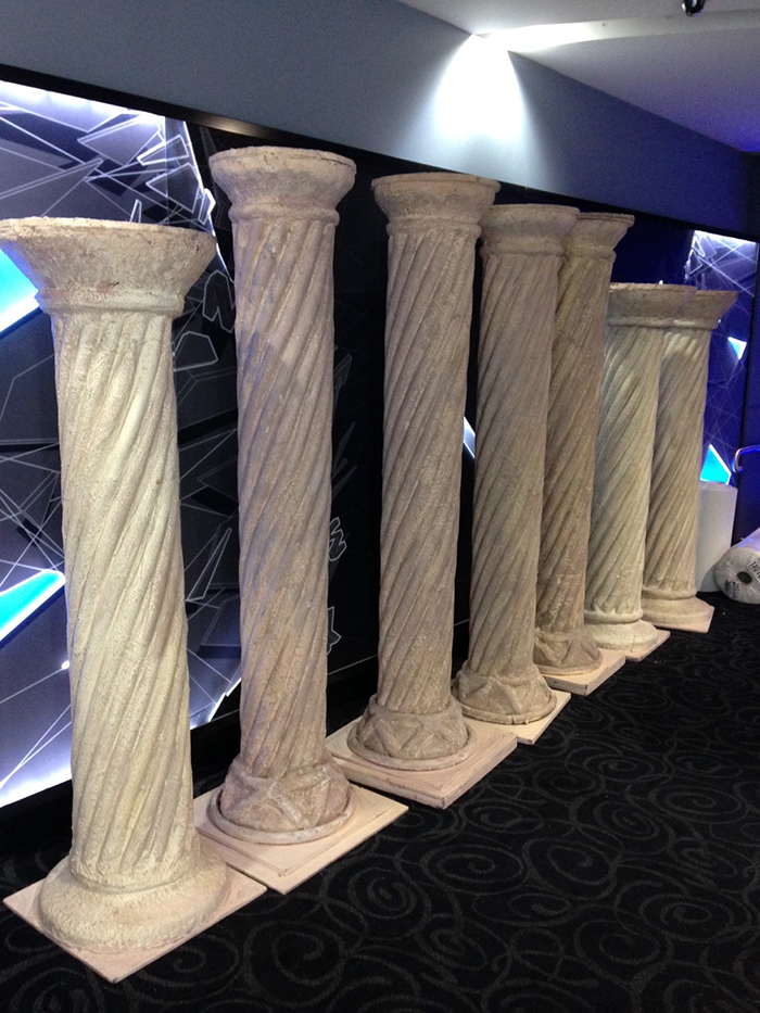Greek Columns - Prop For Hire