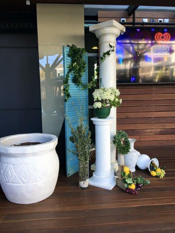 Greek Plinths and Urns - Prop For Hire