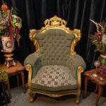 Green Armchair - Prop For Hire