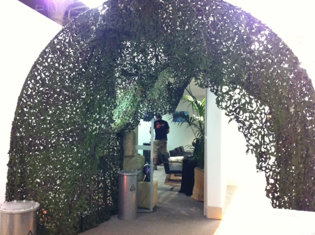 Green Tunnel - Prop For Hire