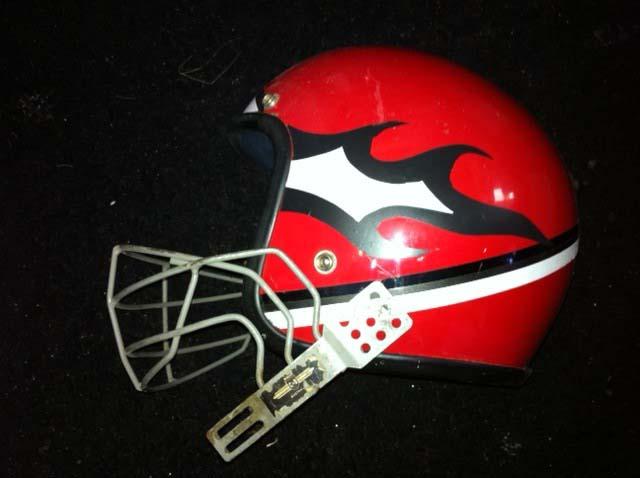 Grid Iron Helmet - Prop For Hire