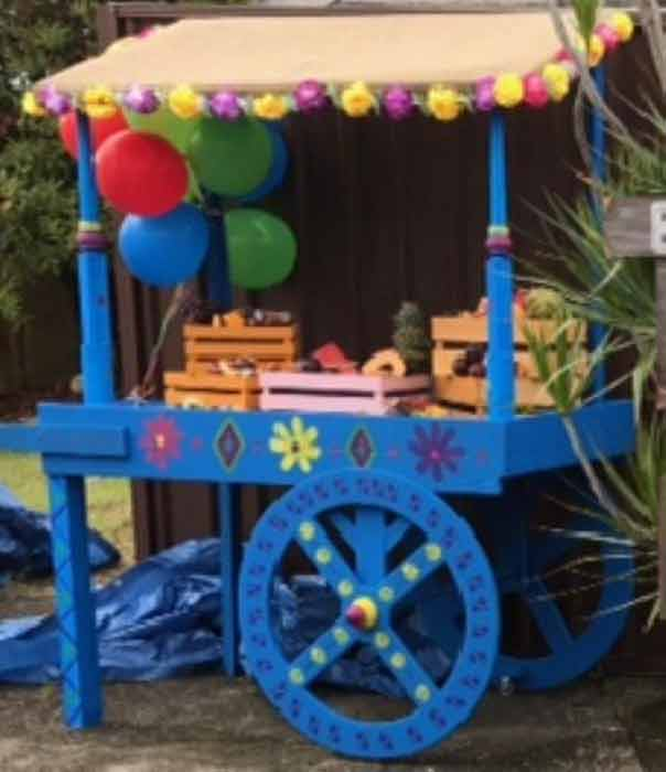 Day of the Dead Cart - Prop For Hire