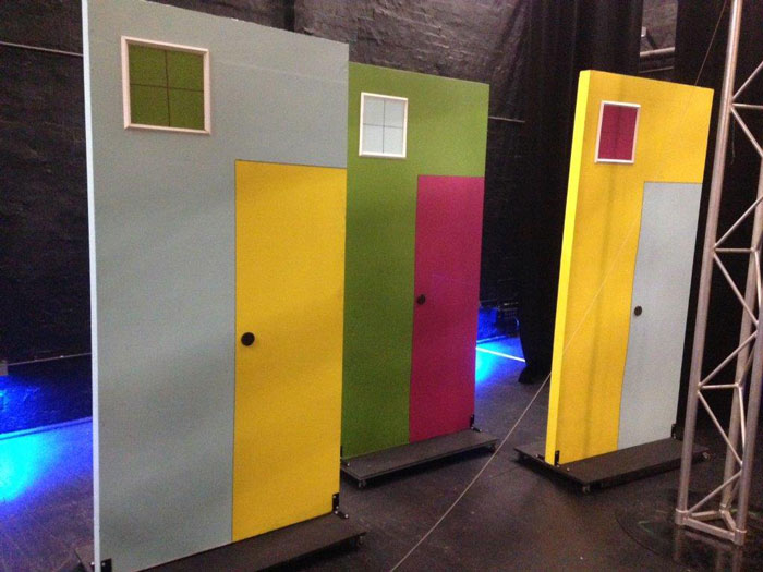 Hairspray Houses - Prop For Hire