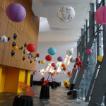 Hanging Paper Lanterns - Prop For Hire