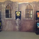 Harry Potter Castle with House Banners - Prop For Hire
