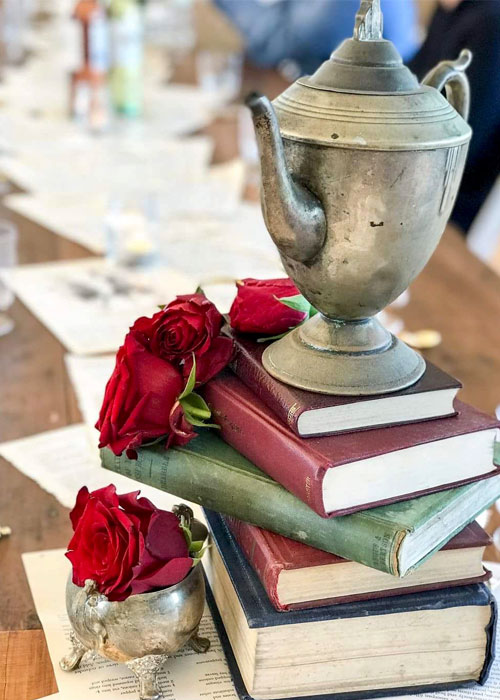 High Tea Books - Prop For Hire