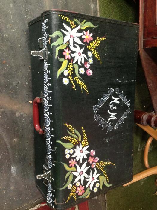 Hippie Suitcase - Prop For Hire